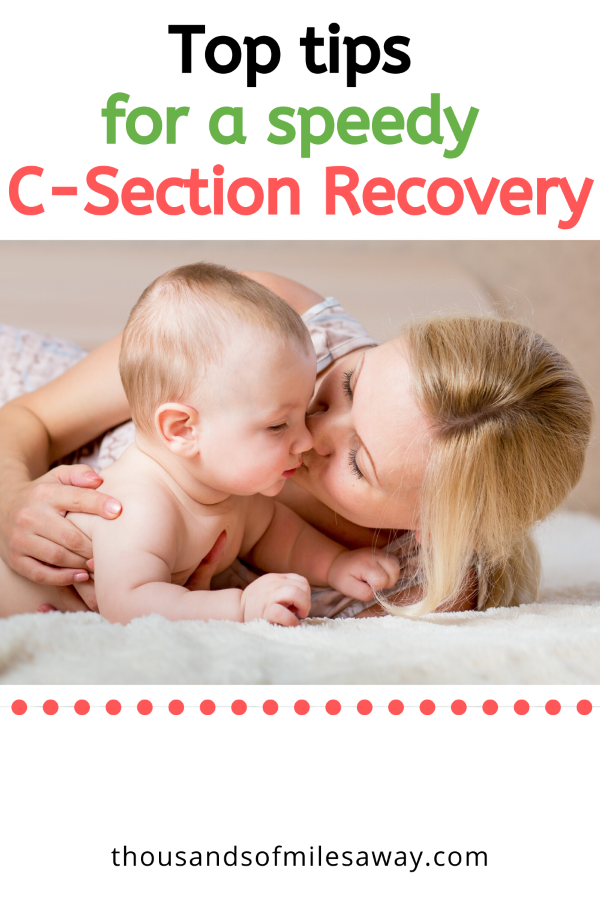 Top tips for a speedy C-section recovery