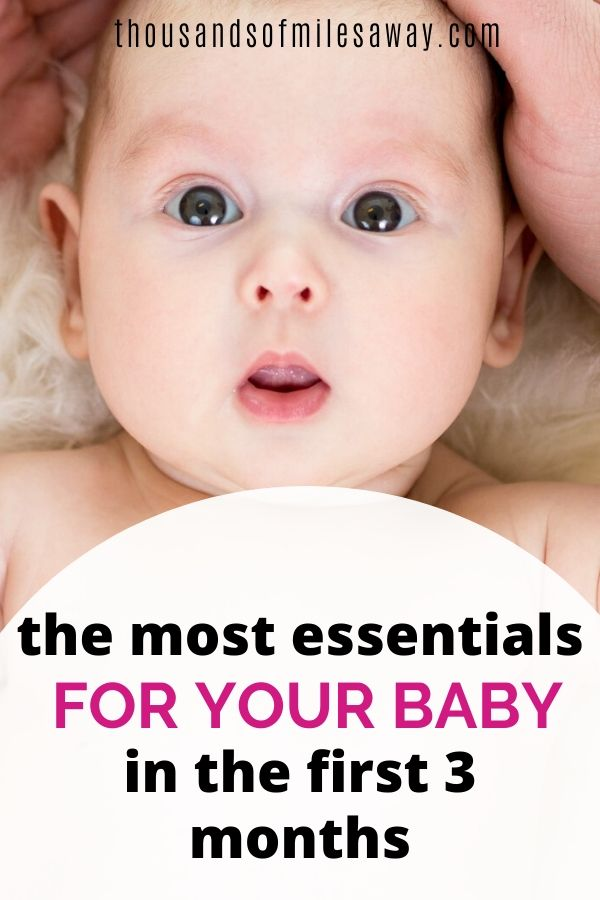 Your newborn baby checklist for her first 3 months
